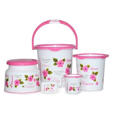 [Image: cello-blossom-plastic-pink-bucket-set---...6bugso.jpg]