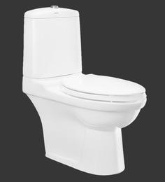 Cera Cruse White Ceramic Water Closet Model 2018 P