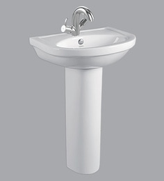 Cera Wall Mounting Wash Basin Without Pedestal, White - 1721338