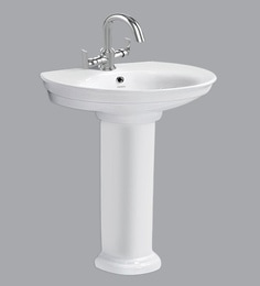Cera Wall Mounting Wash Basin Without Pedestal, White - 1721341