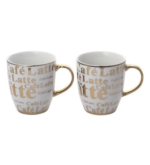 3632b640b40 Buy Porcelain 300 ML Mug- Set of 2 Online - Slogan Mugs - Mugs ...