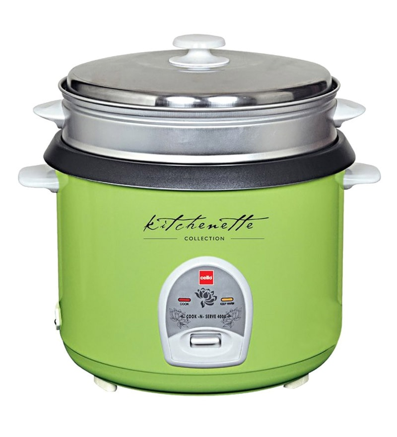 Cello 400 A Green Cook-N-Serve Electric Cooker