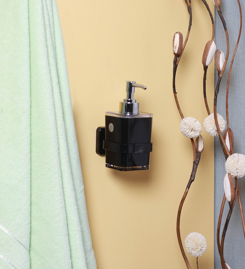 Century Black Abs Lotion Soap Or Shampoo Dispenser By Century