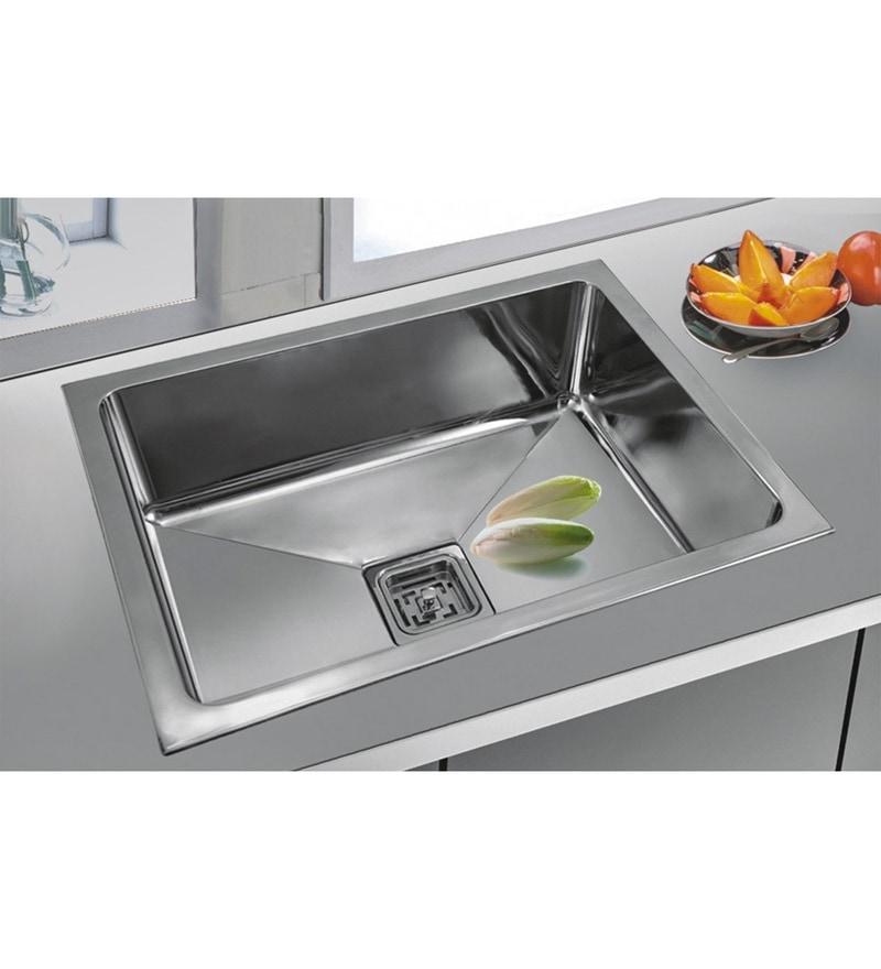 Century Salem Steel Kitchen Sink (Model No: Sb-1816)