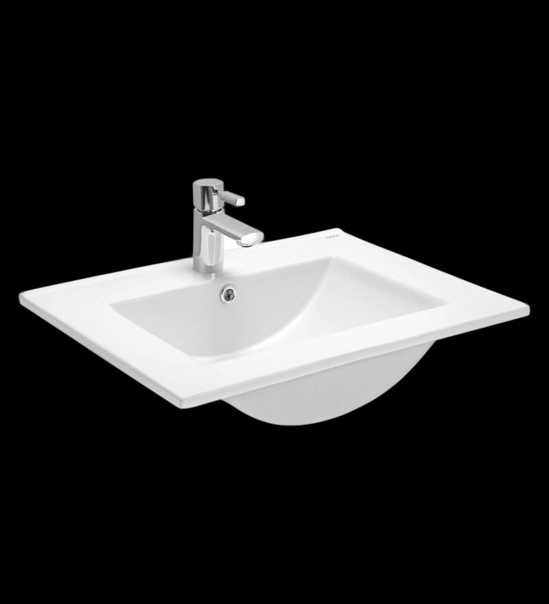 Cera Chester White Ceramic Wash Basin