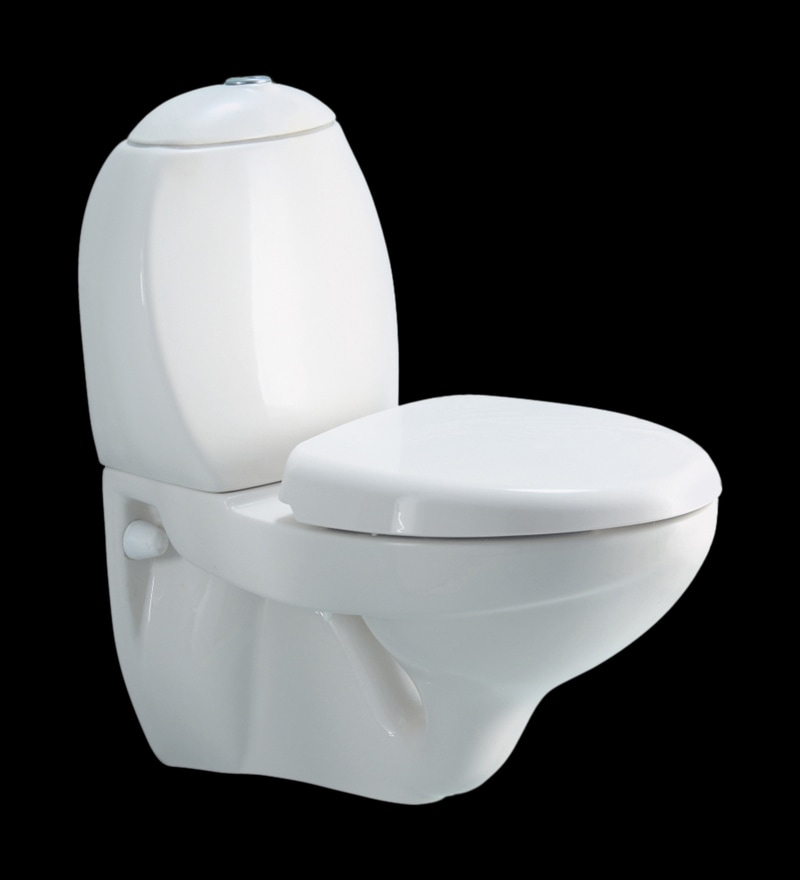 Cera Clair White Ceramic Water Closet ( Model No: 2035 )