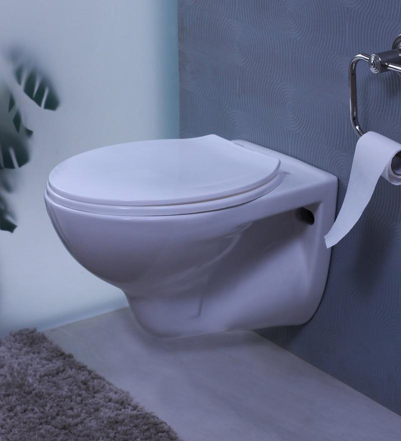 Cera Compact White Ceramic Water Closet