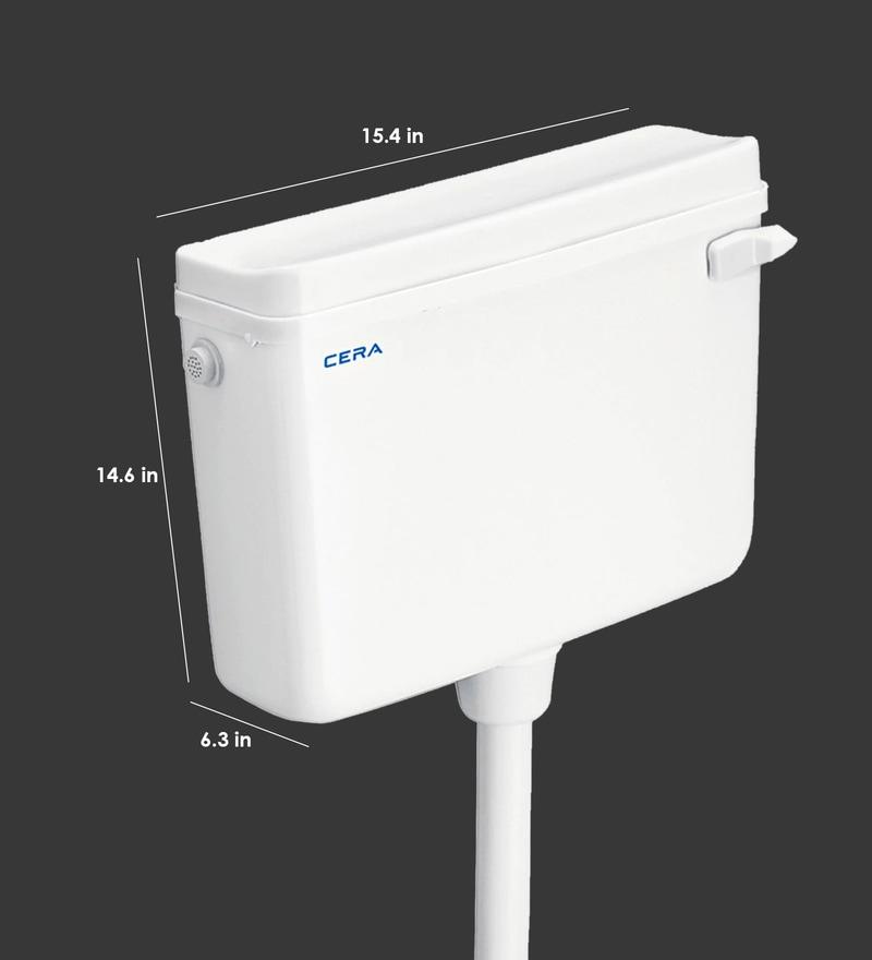 Buy Plastic White Flush Tank By Cera Online Cisterns
