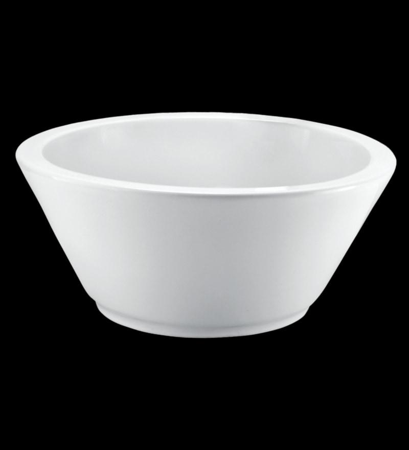Cera Cruse White Ceramic Table Top Wash Basin
