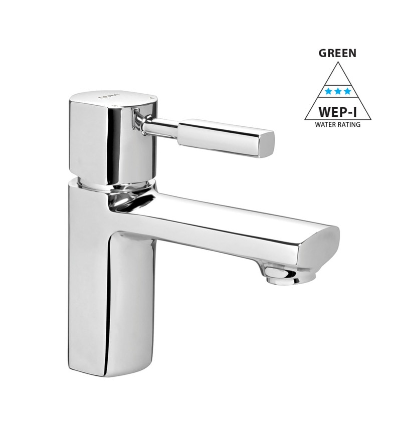 Cera Gayle Chrome Plated Brass Single Lever Basin Mixer