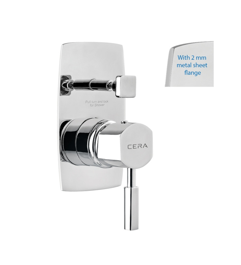 Cera Gayle Cs 1434Se Chrome Plated Brass Exposed Part of 5-Way Single Lever