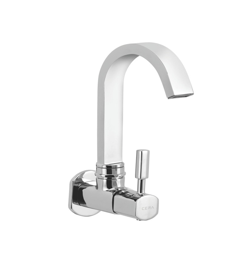 Cera Gayle Single Lever Cs 1417 Chrome Plated Brass Sink Cock