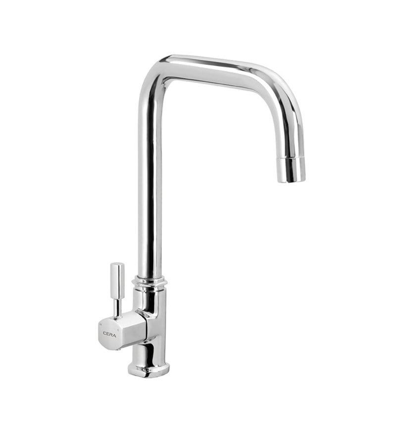 Cera Gayle Single Lever Cs 1420 Chrome Plated Brass Sink Cock