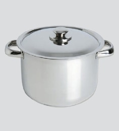 Chef Direct Stainless Steel Stock Pot With Lid 8.5 Literschef Direct Eco-Inox - Cooking Potolla Inox Con Tapa
