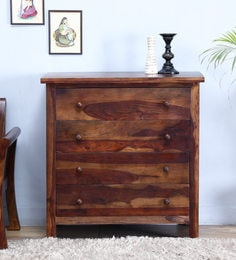 Montevideo Chest Of Four Drawer In Provincial Teak Finish
