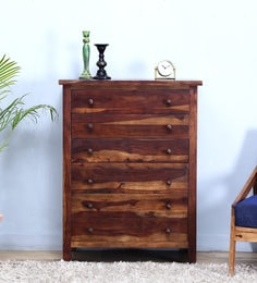 Detroit Chest Of Six Drawer In Provincial Teak Finish