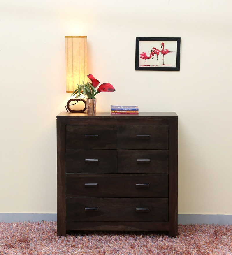 Acropolis Chest Of Six Drawers in Warm Chestnut Finish by Woodsworth