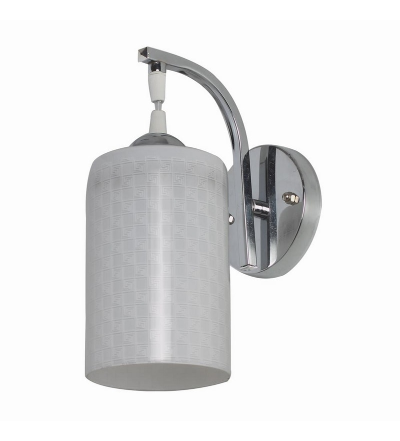Chrome Mild Steel Wall Light by LeArc Designer Lighting