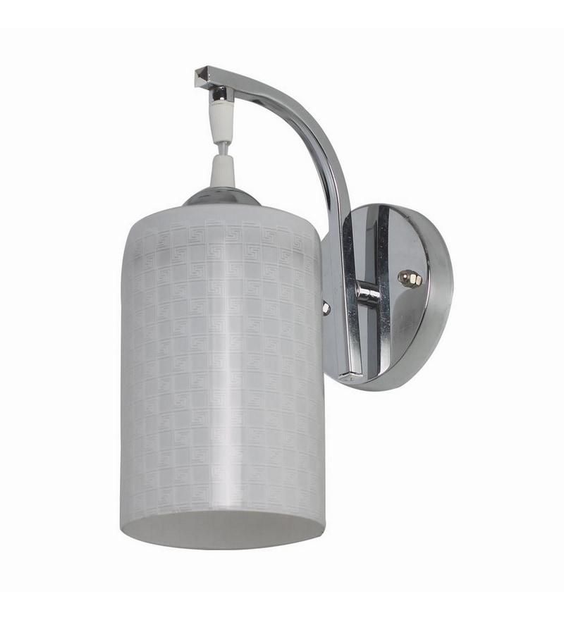 Chrome Mild Steel Wall Light by LeArc Designer Lighting