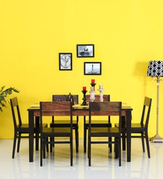 Cistella Six Seater Dining Sets In Dual Tone Finish