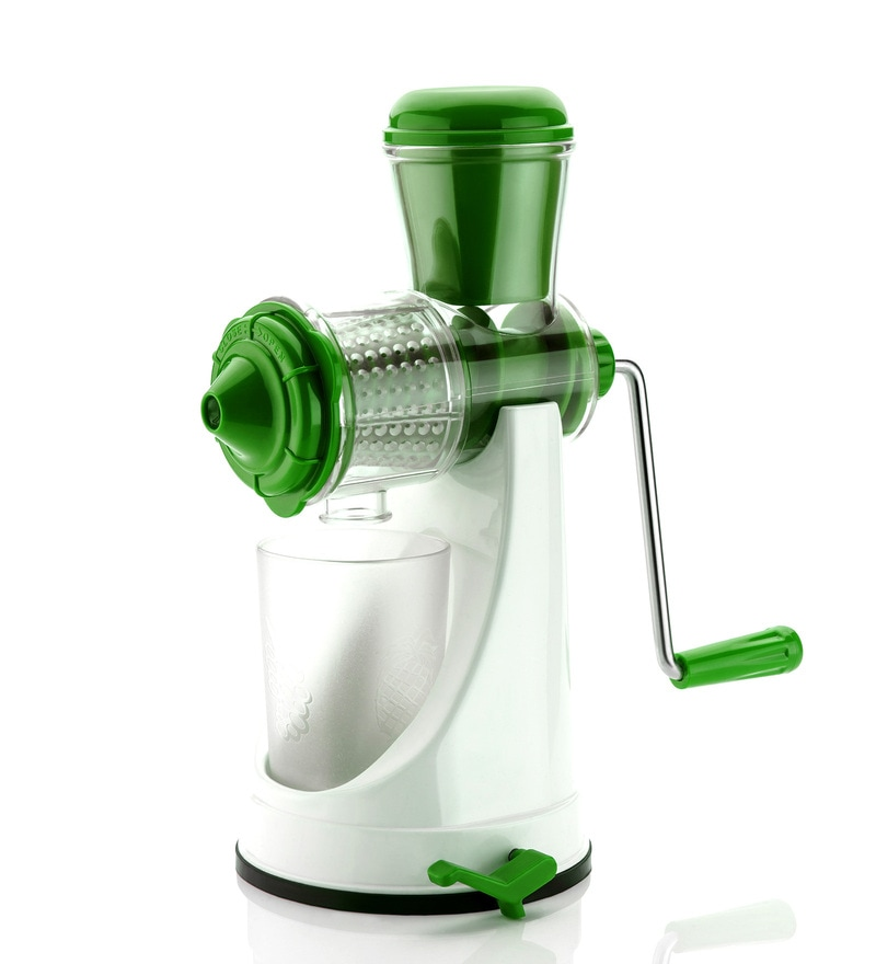 Cierie Fruit & Vegetable Manual Juicer Mixer Grinder with Steel Handle
