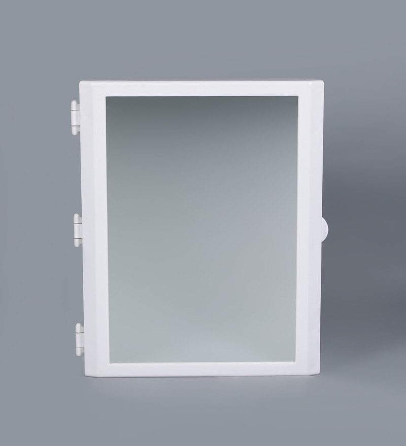 Bathroom Mirror Kolkata buy flora bathroom mirror cabinet - whitecipla plast online