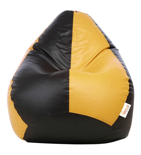 Enjoyable Classic Style Xxl Bean Bag With Beans By Sattva Ncnpc Chair Design For Home Ncnpcorg