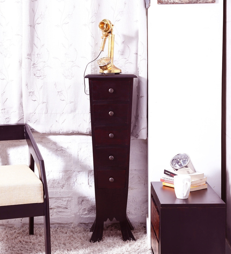 Claire Chest of Drawers in Passion Mahogany Finish by Amberville