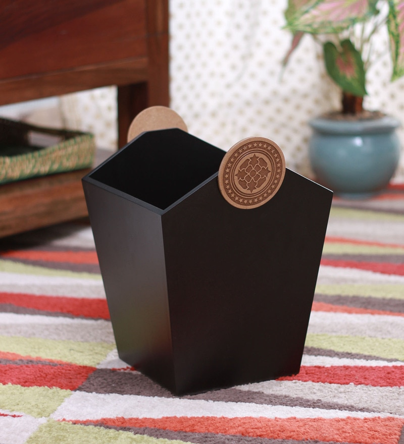 Clasicraft Brown 5 L Dustbin