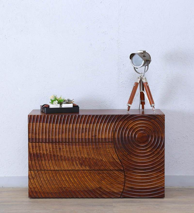 Espiral Sideboard in Provincial Teak  Finish by Woodsworth
