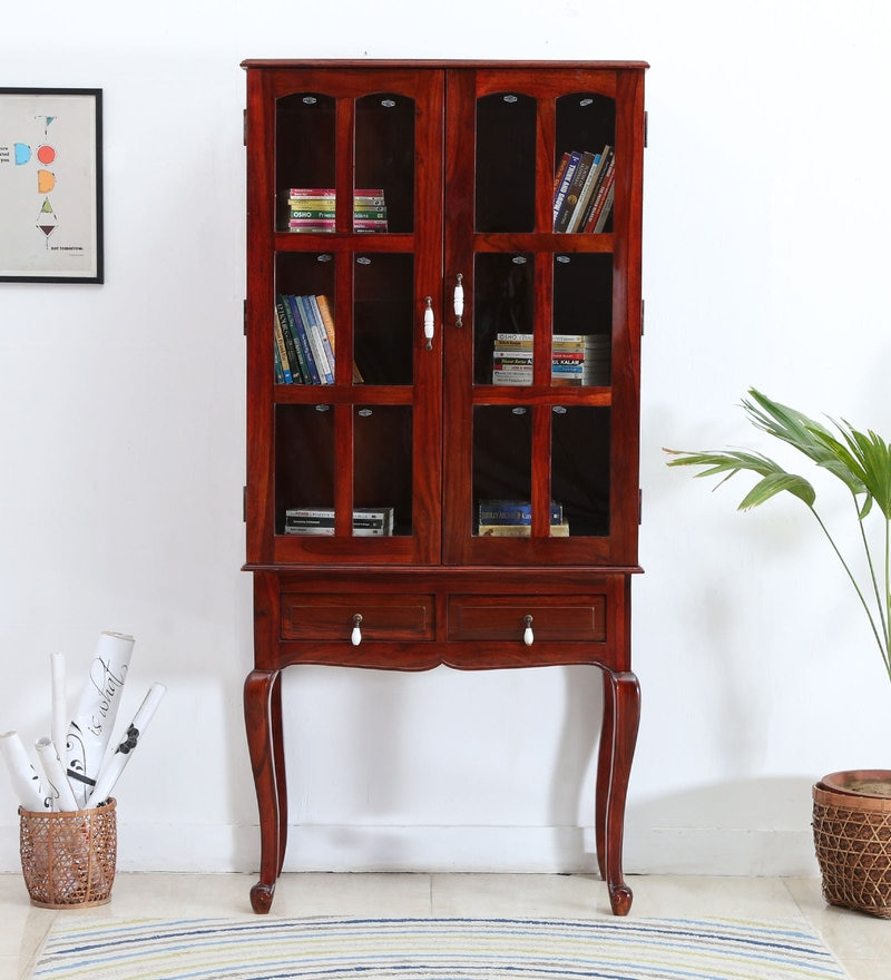 Clifford Cabinet in Honey Oak Finish by Amberville