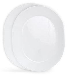 Corelle Livingware Winter Frost White Oval Serving Tray - Set Of 2