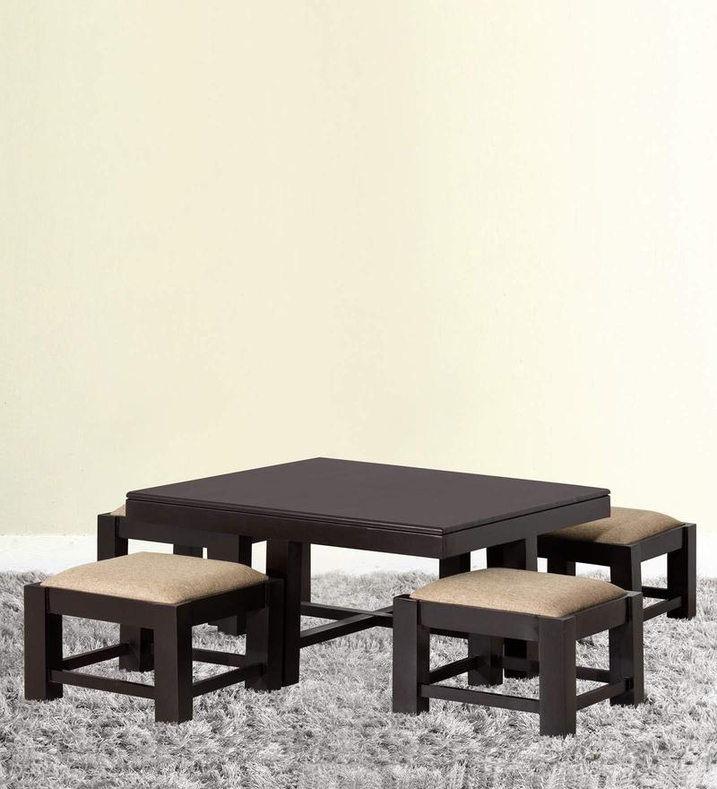 Regina Coffee Table Set In Honey Oak Finish By Woodsworth
