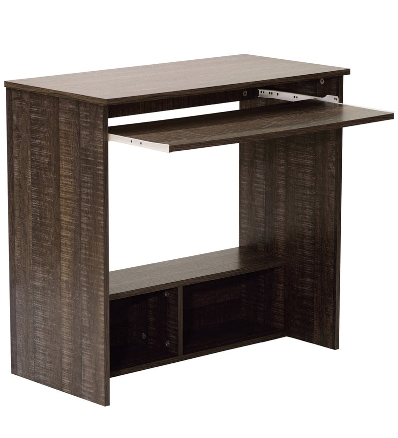 buy akira computer table in wenge finish by mintwud online