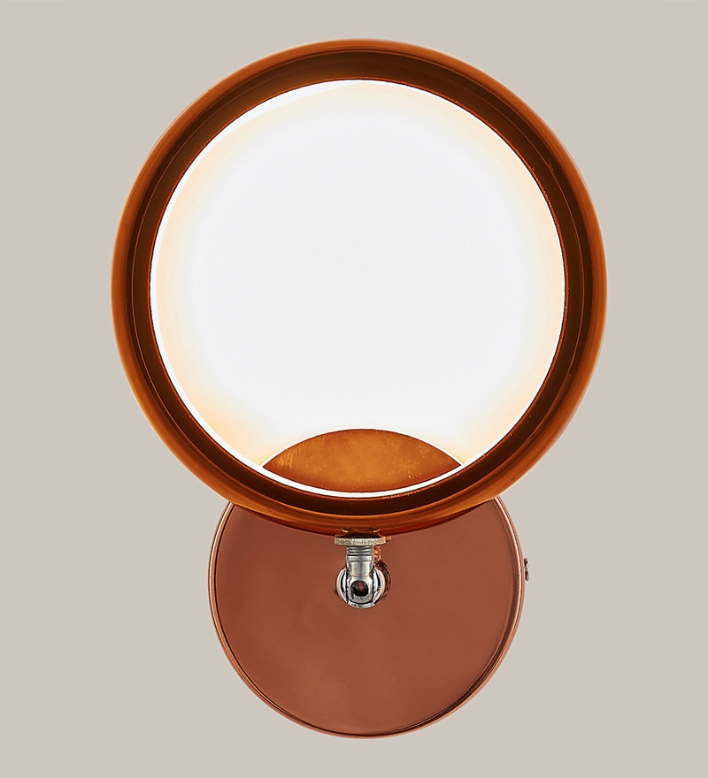 Copper Mild Steel Wall Light by Kapoor E Illuminations
