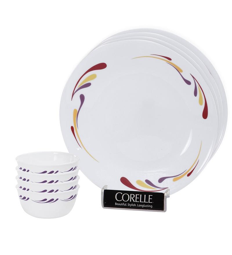 India Impressions Celebration 8 Pcs Dinner Set by Corelle
