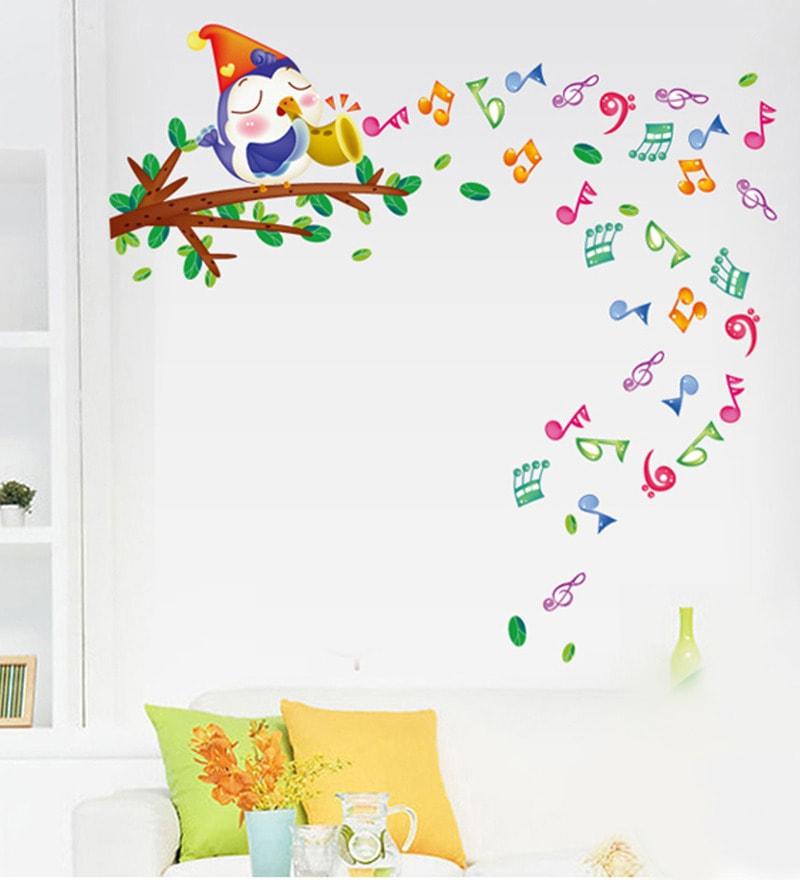 Musical Theme PVC Vinyl Wall Sticker by Cortina