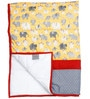 Elephant Printed Kids Quilt in Yellow Colour by Cocobee
