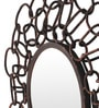 Gold Iron Antique Wall Decorative Mirror by Cocovey