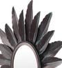 Multicolour Iron Sunburst Decorative Mirror by Cocovey