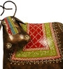Multicolour Metal Antique Cow Figurine by Cocovey