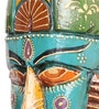 Multicolour Wooden Handicrafted Wall Mask by Cocovey