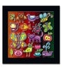 ColorSaga Paper Animals of The World Mounted Poster