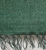 Green Cotton 72 x 48 Inch Hand Woven Nikunj Dhurrie by Contrast Living