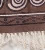 Contrast Living Multicolour Cotton 72 x 48 Inch Shuttle Hand Woven Area Rug