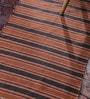 Contrast Living Multicolour Cotton 96 x 60 Inch Stripe Shuttle Area Rug