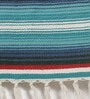 Multicolour Cotton 72 x 48 Inch Hand Woven Printed Dhurrie by Contrast Living