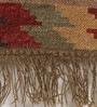 Contrast Living Multicolour Jute 96 x 60 Inch Sumak Area Rug