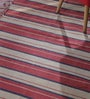 Multicolour Wool & Cotton 138 x 98 Inch Kilim Area Rug by Contrast Living