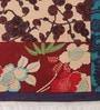 Contrast Living Multicolour Cotton 72 x 48 Inch Floral Area Rug